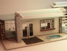 Dollhouse renderings
